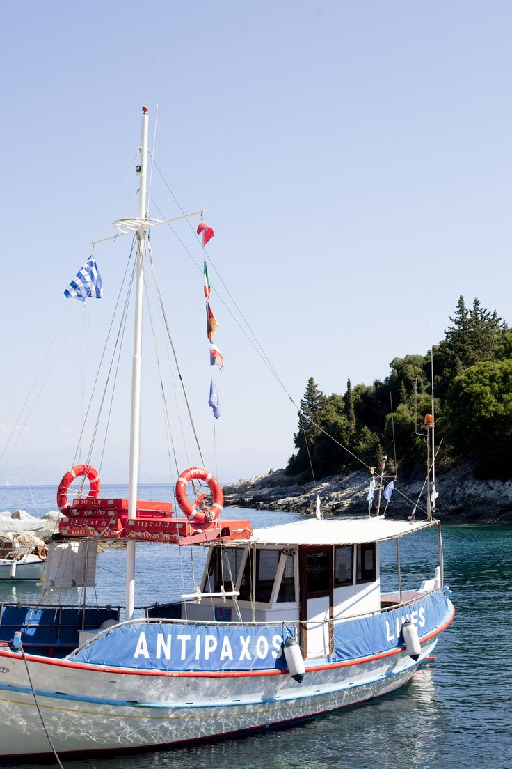 Antipaxos, The Ionian Islands, Greece   The Thinking Traveller