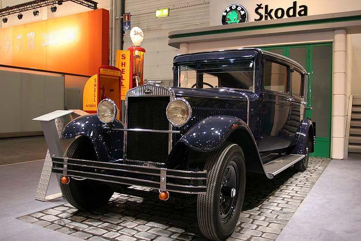 Skoda 645, Baujahre 1929-1934, 6-Zylinder, 45 PS, 90 km/h