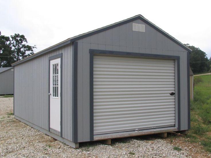 Garage - Portable buildings Missouri   Storage Sheds ...