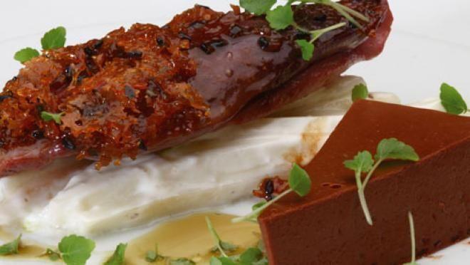 The Taste of Cooking: Duif - Chocola - Atsina Cress | recept | 24Kitchen