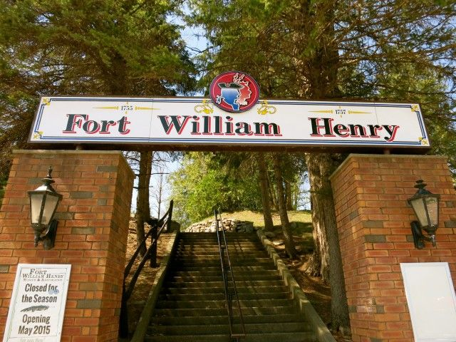 Fort William Henry, Lake George NY #vacationeer