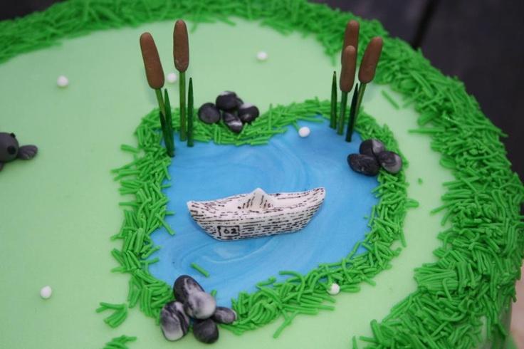 Detail Golf taart