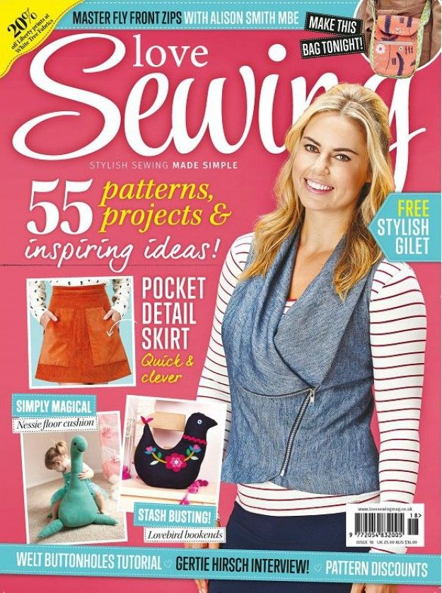 Love Sewing - Issue 18