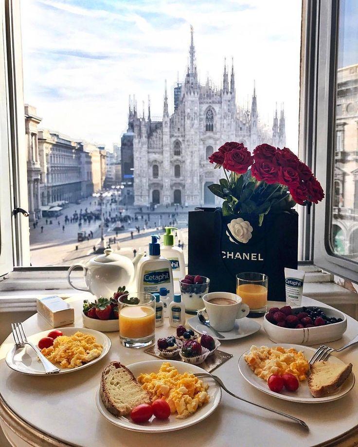 Breakfast View Yummy Milan Desayuno Rom 225 Ntico