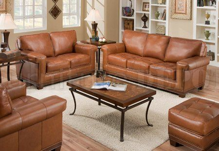 Unsual charming and inspiring rustic brown leather couch : Brown Wooden Floor Also Carpet Also Brown Sofa Also With Brown Desk Also Desk Lamps Desk