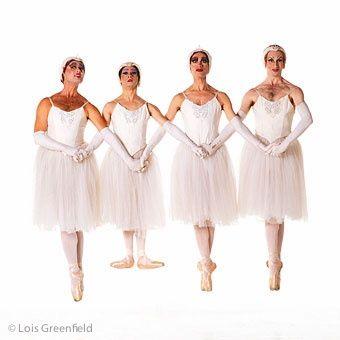 Les Ballets Trockadero de Monte Carlo  © 1995 Lois Greenfield