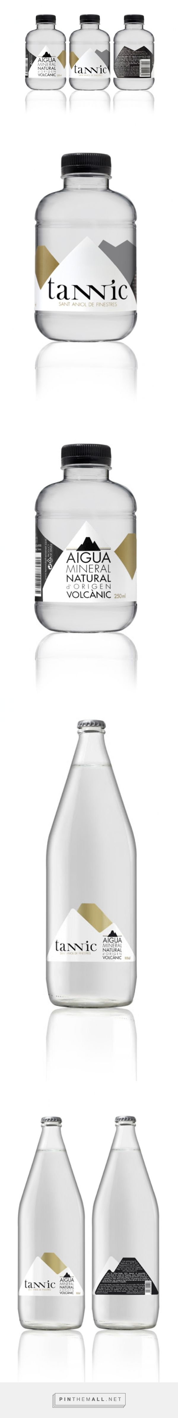 Tannic Volcanic Mineral #water #packaging - http://www.packagingoftheworld.com/2015/02/tannic-volcanic-mineral-water.html