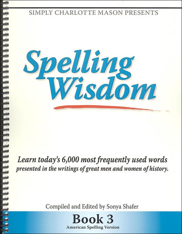 Spelling Wisdom Book 3 | Main photo (Cover)