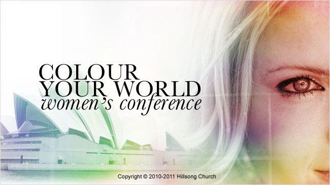 Colour conference @ Hillsong Australia