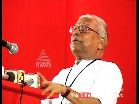 Vs achuthanandan's importance in kerala elections agenda 20 nov 2015