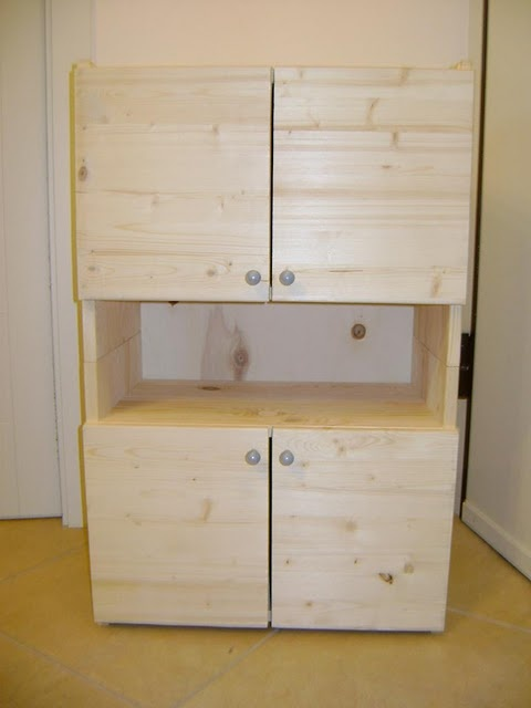 IKEA hack - kids storage