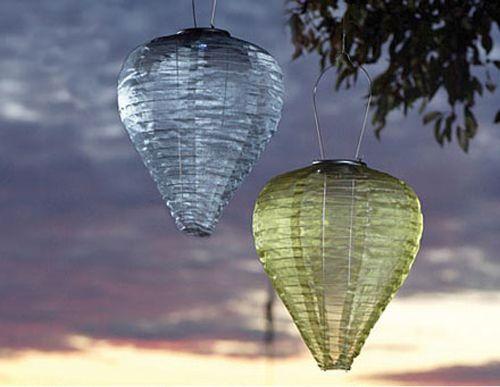 Nozze ecologiche, lanterne solari