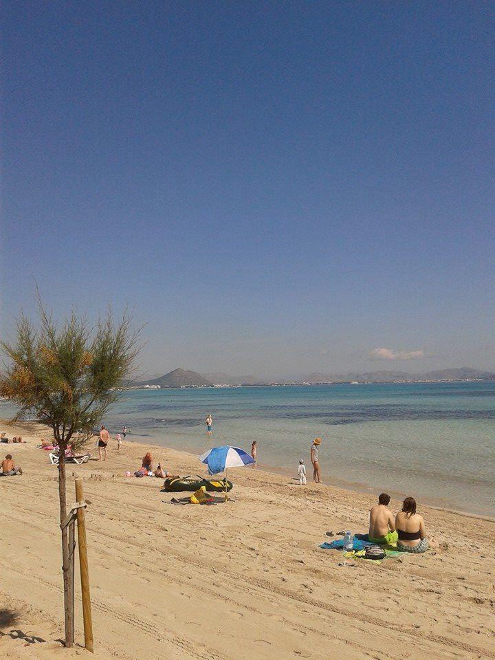Beautiful ca'n picafort beach