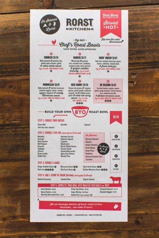 Best menus images on pinterest menu design