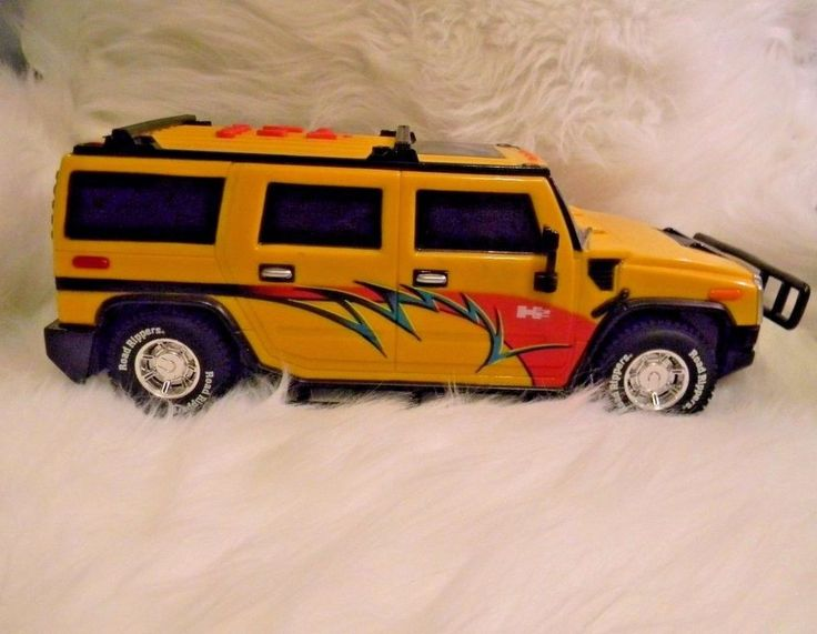 Toy Hummer Truck MC Hammer You Can't Touch This Song 2006 #ToyStateIndustrial