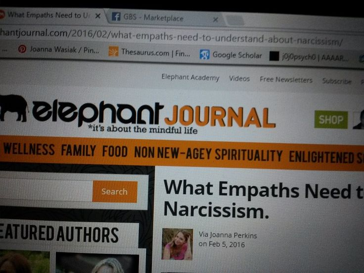 What Empaths Can Learn from Narcissists