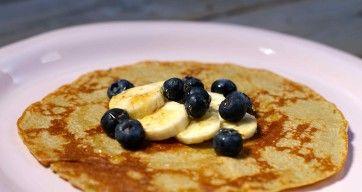 Kjempegod frokostpannekake til inspirasjon og nytelse for både liten OG stor.
