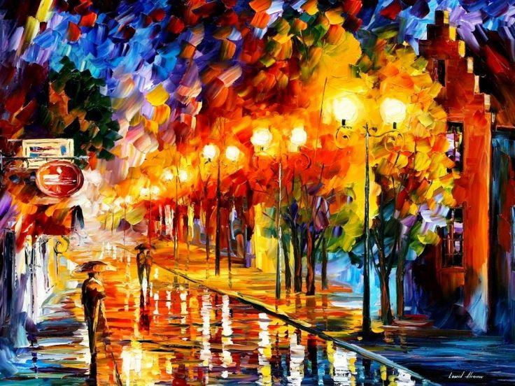 5художников, влюбленных восень #афремов #afremov