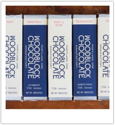 Nothing rivals the taste of an amazing piece of melting chocolate slowly savored.  At Woodblock Chocolate, it's not farm to table but bean to bar in this thoughtfully run, Portland-based chocolate manufactory.
