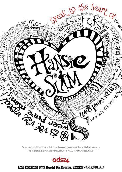 Hansie Slim lirieke  #Afrikaans #Afrikana
