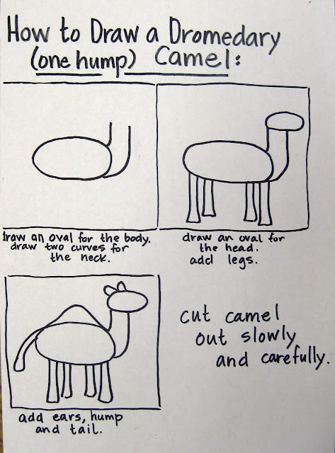How to Draw a Camel worksheet