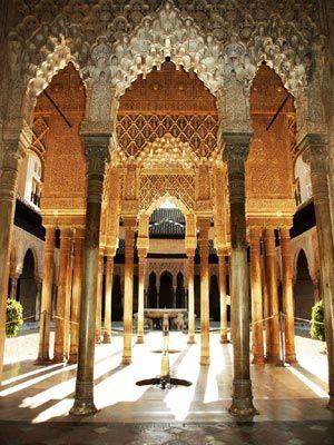 Patio de los Leones at the Alhambra