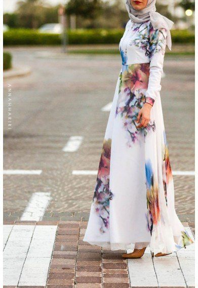 latest Muslimah abaya and hijab fashion for women (7)