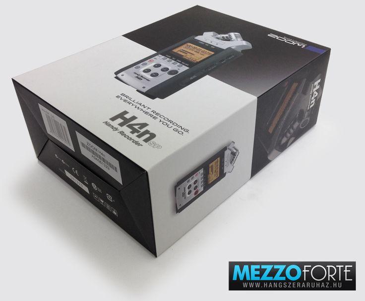 Zoom H4nSP diktafon, hangrögzítő: a klasszikus Zoom H4n kiegészítők nélküli (olcsó) változata