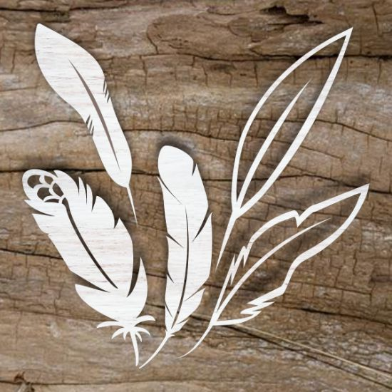 SHOP ONLINE feather templates, patterns, designs for laser cutting and engraving. These laser cut templates are all laser ready. Download vector files PDF, AI, EPS, SVG, CDR x4. Use your favorite editing program and scale to any size. You can add and remove elements or personalize the design. Our templates are all tested. Free designs every day. Pay with PayPal and other.