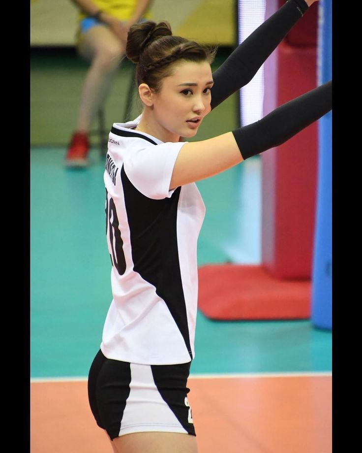 Kazakh volleyball player Sabina Altynbekova so attractive