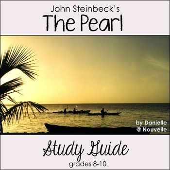 symbolism in steinbecks the pearl The pearl, by john steinbeck, takes a novel to its most unadulterated form steinbeck does this by conveying life symbolically through symbols, steinbeck offers the reader a more clear look at life and its content.