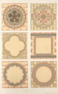 Medallions, for ornamental devices and figure subjects....
