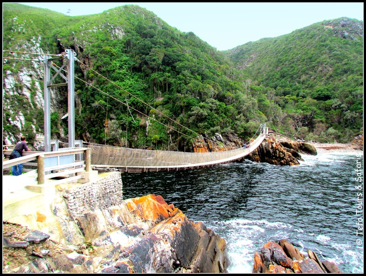 #Garden Route South Africa - @Tsitsikamma National Park - Storms River Mouth