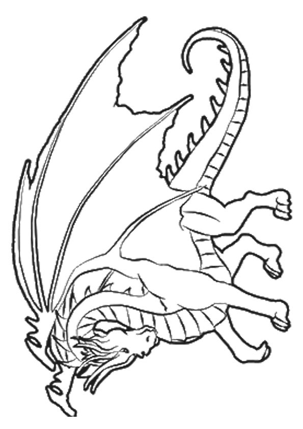 66 best ~*~ Coloring Pages ~ Dragons images on Pinterest