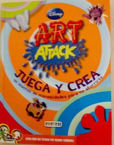 Disney Art Attack Juega Y Crea Un Monton de Manualidades Para No aburrirte