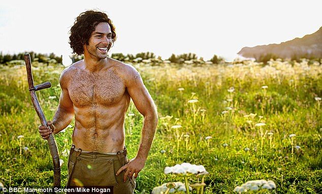 Poldark's back on the market! Aidan Turner no doubt delighted his admirers on Wednesday, after it emerged he has split from his girlfriend Nettie Wakefield