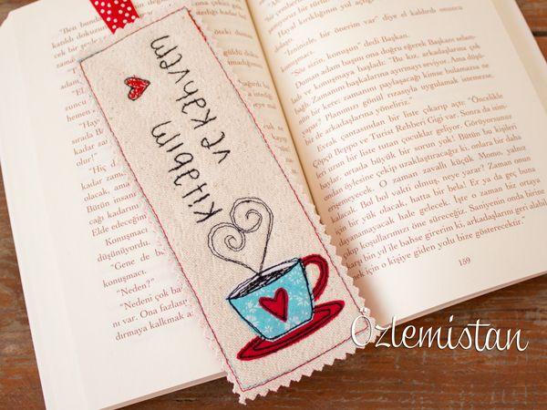 Kitap ve kahve ikilisinden vazgeçemeyenlere özel kitap ayracı
