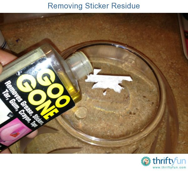 This is a guide about removing sticker residue. It is so frustrating trying to remove sticker residue from your purchases or elsewhere around your home.