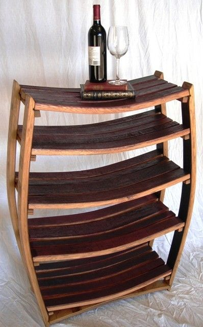 Bookcase Medici Large Wine Barrel 100 Recycled