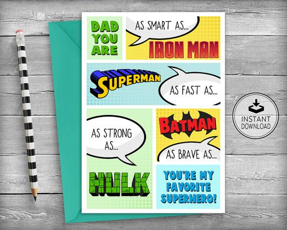 Top 7 ideas about Printable Cards for Dad – Birthday Cards for Dad Printable