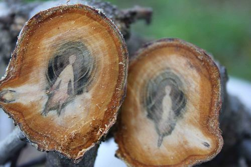 """""""Tree spirits. All trees have spirits but all trees obviously don't have patterns such as these. I think somebody was trapped in that tree."""" witch witchy craft inspiration Pagan Wiccan Goddess"""