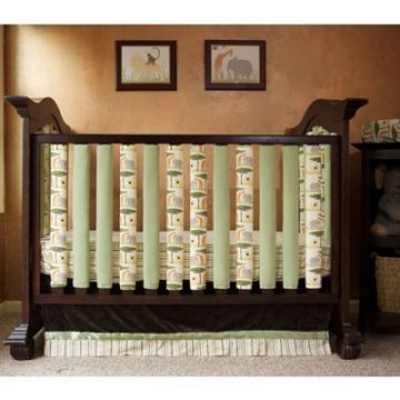 Crib bumpers. Breathable! Maybe a DIY in my future?