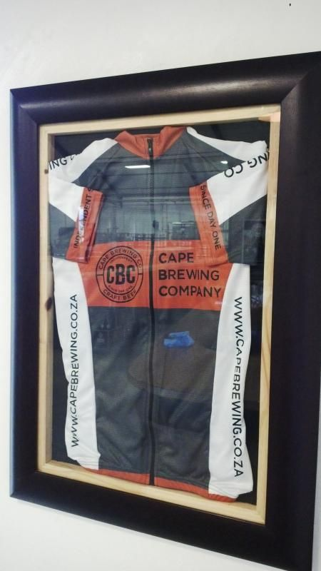 Have you seen the Cape Brewing Company Cycling gear? You can buy it at the brewery. For more info contact us > http://capebrewing.co.za/contact-us/