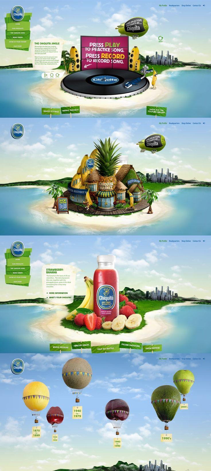 Chiquita | #webdesign #it #web #design #layout #userinterface #website #webdesign <<< repinned by an #advertising #agency from #Hamburg / #Germany - www.BlickeDeeler.de