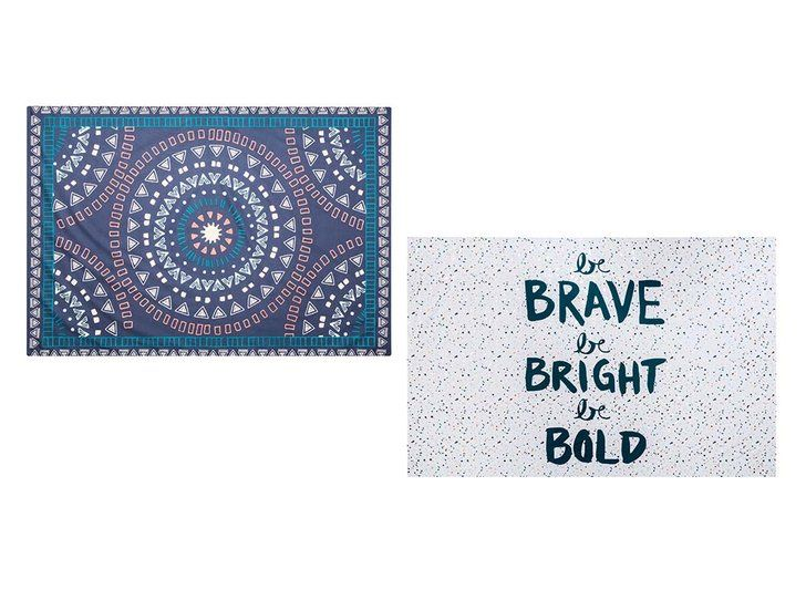 Pin for Later: 21 Affordable Pieces From Target to Make Your Dorm Room Cooler Than the Rest  Room Essentials Engineered Medallion Wall Tapestry ($10). Room Essentials Splatter Paint Wall Tapestry ($10).
