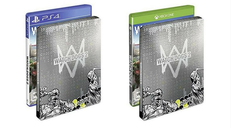 [Angebot]  Watch Dogs 2  Standard inkl. Steelbook Edition (exkl. bei Amazon.de)  [Playstation 4 und Xbox One] für 3897