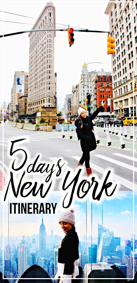 5-day New York City travel itinerary for Christmas…