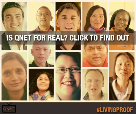 Is #QNET for real? Here's the #LivingProof: https://www.youtube.com/watch?v=q02bmng-9wU