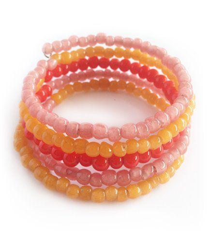Kade Pink - 5 Wrap Bead | Indigo Heart - Fair Trade Fashion A$19.95