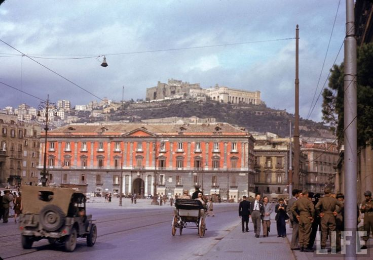 Photos of Naples in 1943 in 36th Infantry Division Forum ...